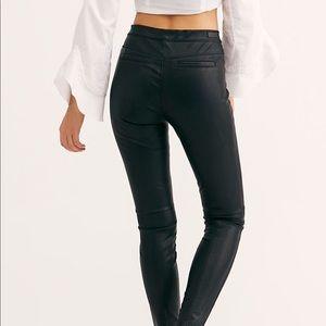 BLANKNYC vegan leather leggings